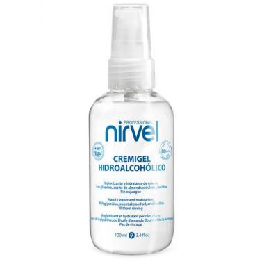Nirvel Hidroalcoholic Gel Cream azonnali kéztiszító ápoló krém gél 80 alkohollal