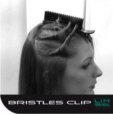 Gyors hajcsipesz hajvasaláshoz 5-10 hajtincs rögzítésére 1db