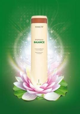 Zsíros haj intenzív kezelése Kinactif Balance + ajándék körkefe