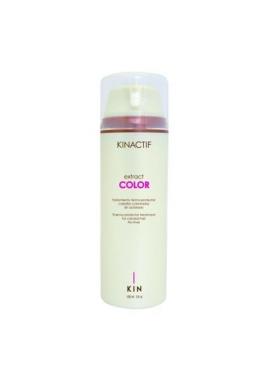 Hajegyenesítő festett hajra Kin Color Extract