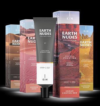 Kincrem Prestige Earth Nude hajfesték új színek csomag