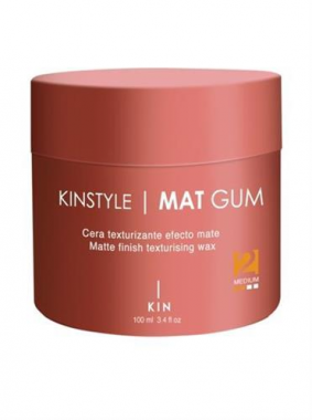 KINSTYLE Mat Gum hajformázó matt wax parfümmel