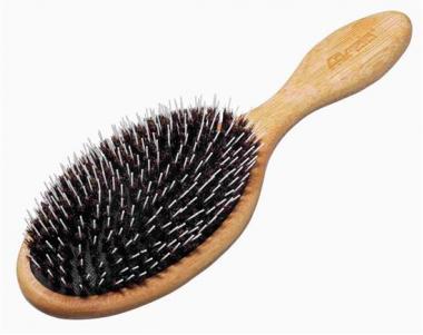 Vaddisznósörte hajkefe bambuszból 7000761