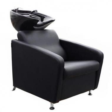 Fejmosó fotel fekete porcelánnal