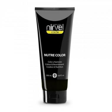 Nirvel Nutre Color Fekete hajszínező balzsam