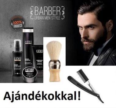 Borotválkozó szett Nirvel Barber termékekkel + Ajándékokkal