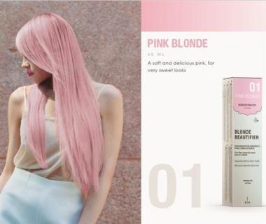 Kinessencess szőke természetes hajszínező 01 Pink