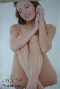 Nirvel Levissime poszter női test