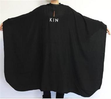 Hajvágó kendő KIN logóval
