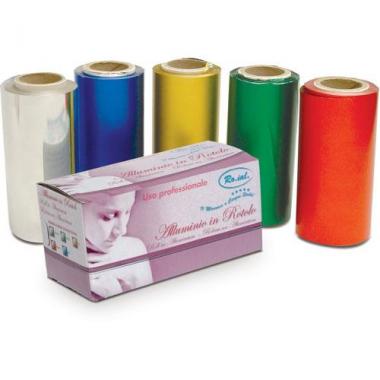 Melírozó színes fólia tépős dobozban