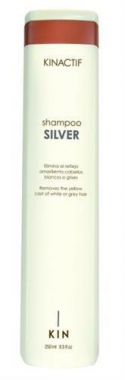 Sampon hamvasító hatással KIN Silver