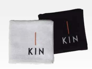 Törölköző KIN logóval/fehér