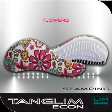 Hajkisimító és szuper hajbontó kefe Tanglim econ-flower