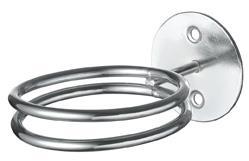 Hajszárító gép tartó dupla fémgyűrű