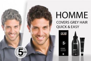 Homme férfi ammóniamentes hajfesték csomag fodrászoknak