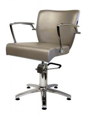 Fodrász szék Laura ezüstös szürke