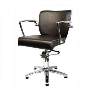 Fodrász szék bordós fekete Zara