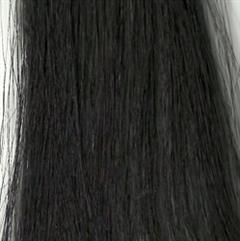 Ragasztócsíkos póthaj 4cm×50-55cm SO.CAP.1B fekete 6db/csomag