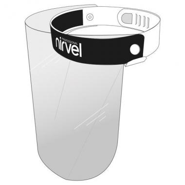 Arcpajzs arcvédő arcmaszk plexivel Nirvel