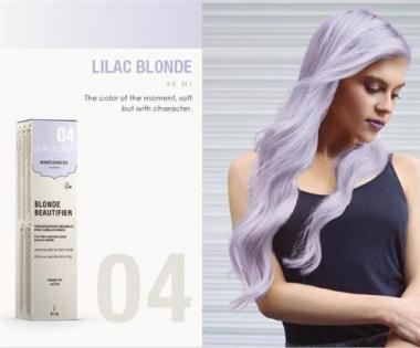 Kinessencess szőke természetes hajszínező 04 Lila