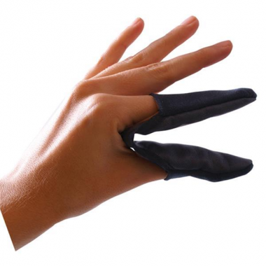 Hővédő ujjakra hajvasaláshoz