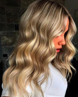 Szőke haj készítés 1