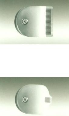 Haj és szakáll vágó- kreatív minta készítő Hw02036-késszett-35mm széles fej