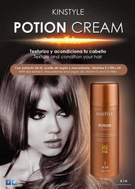 Volumennövelő hajápoló Kinstyle Potion Cream