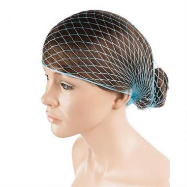 Horgolt erős hajháló hd-világos kék
